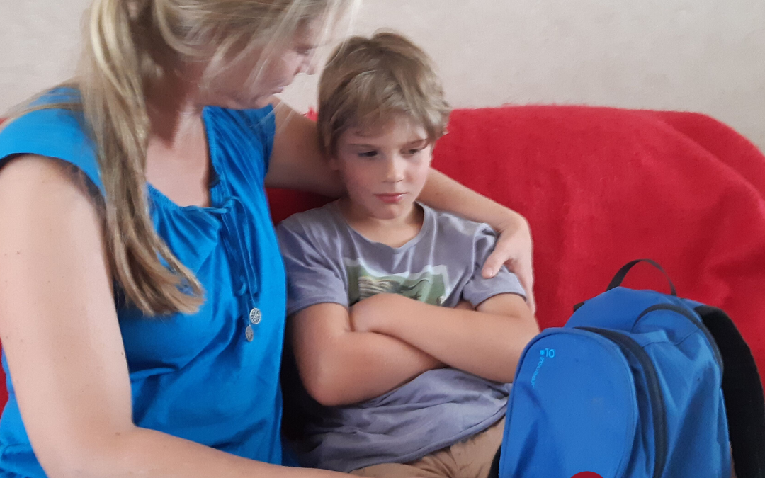 Vier pijlers tegen leeglopen wanneer je kind moe thuiskomt
